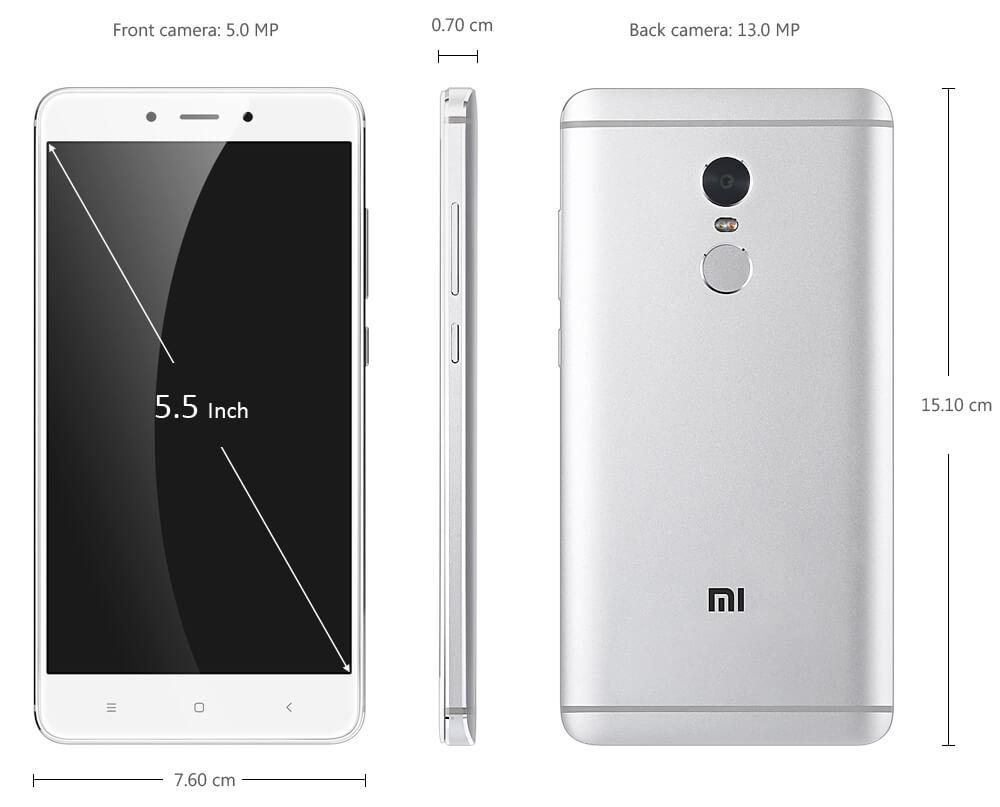 Xiaomi Redmi Note 4X pro (Белый)